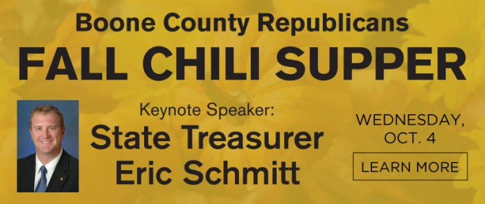 Boone County Republicans Chili Supper Oct. 4