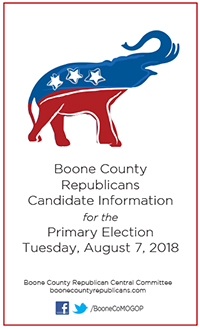 Republican candidates in 2018 primary