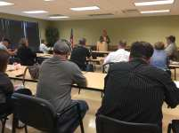 Boone County Pachyderm Club meeting with Missouri Dept. of Agriculture Director Chris Chinn