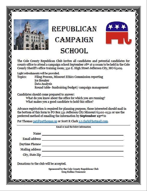 Republican Campaign School